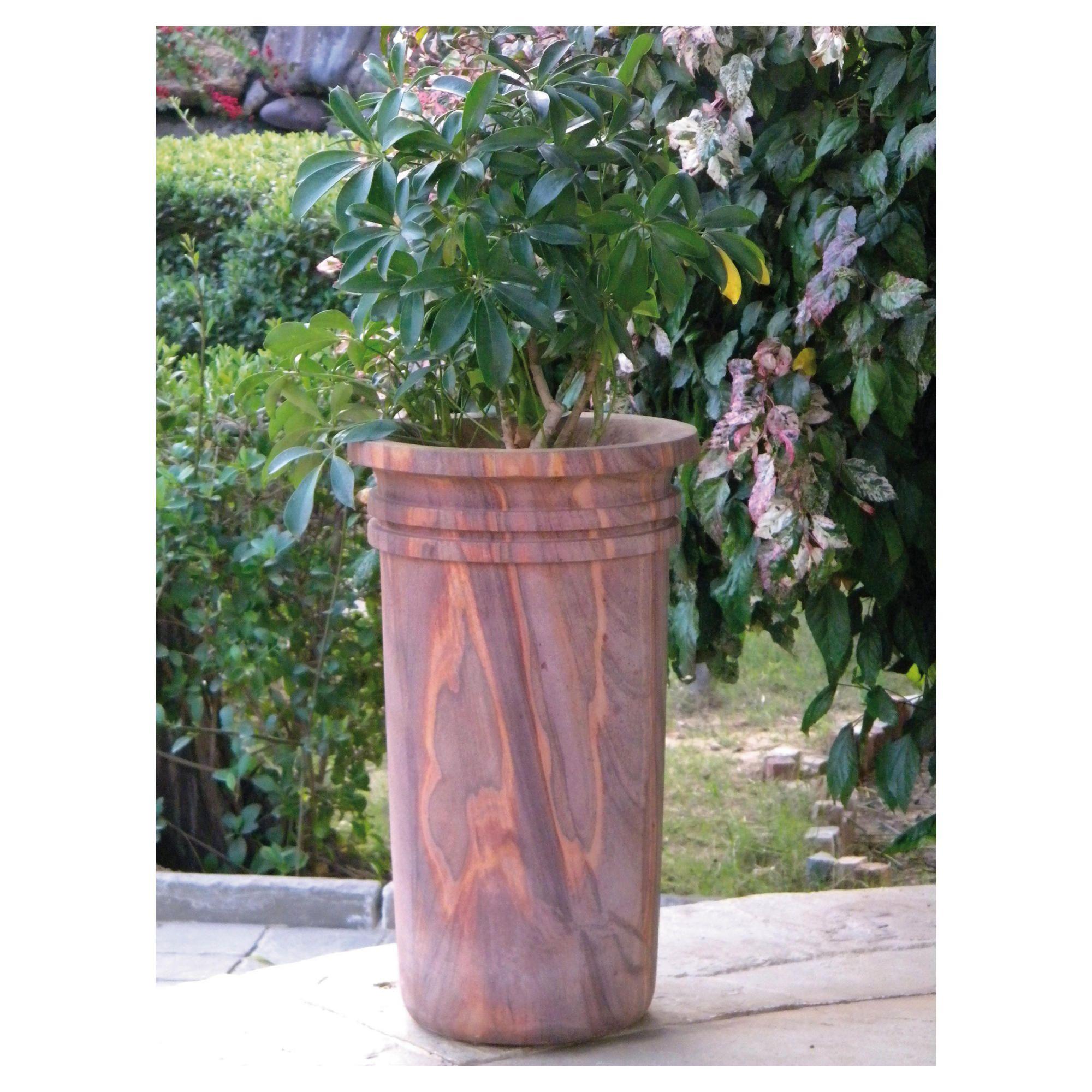 Fidelia Rainbow Stone Planter 80cm at Tesco Direct