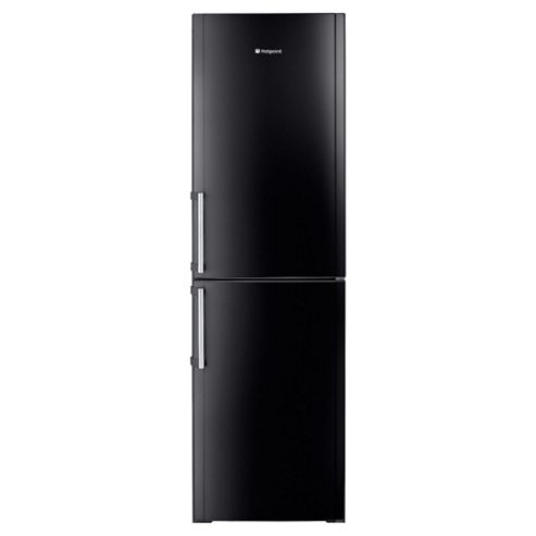 Hotpoint FFFL 2010 K Black Frost Free Fridge Freezer