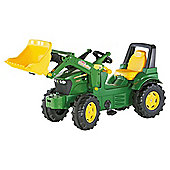 John Deere 7930 Ride-On Tractor With Frontloader