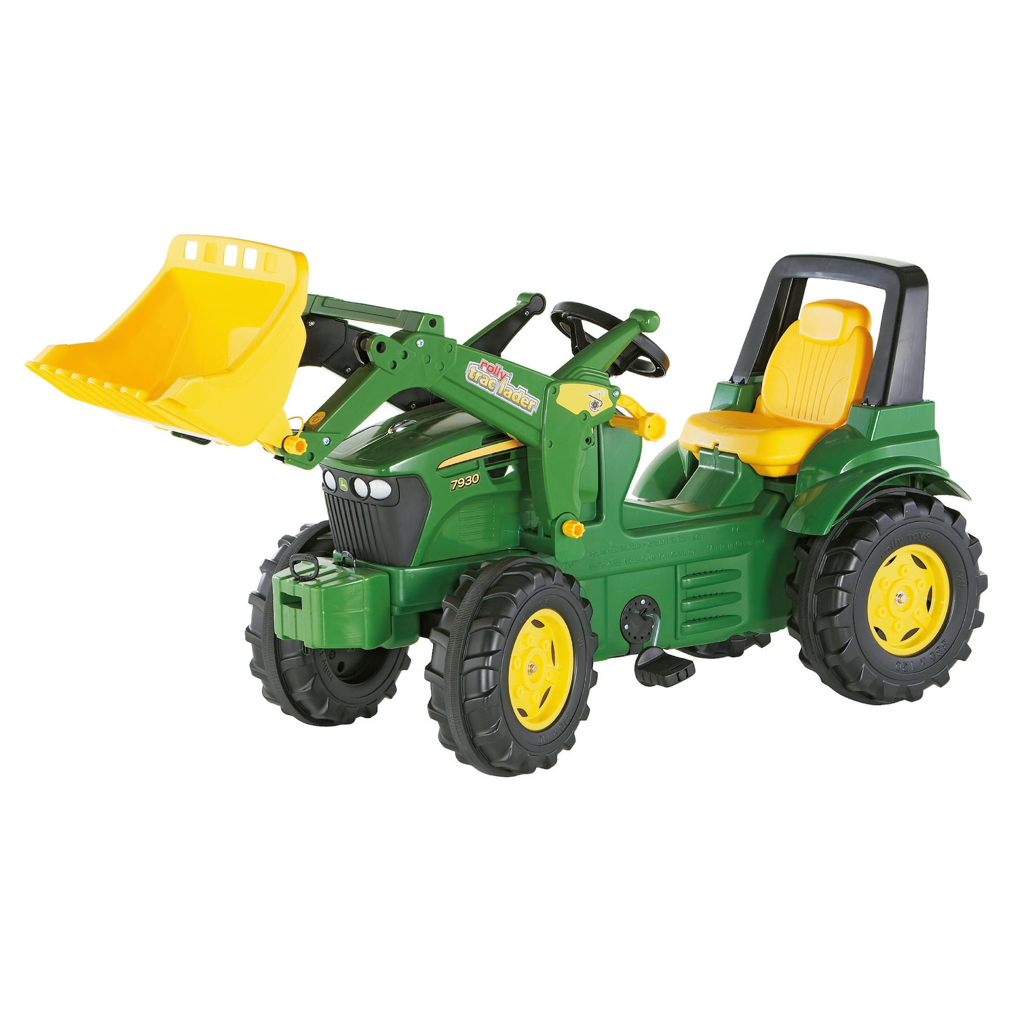 John Deere 7930 Ride-On Tractor With Frontloader at Tesco Direct