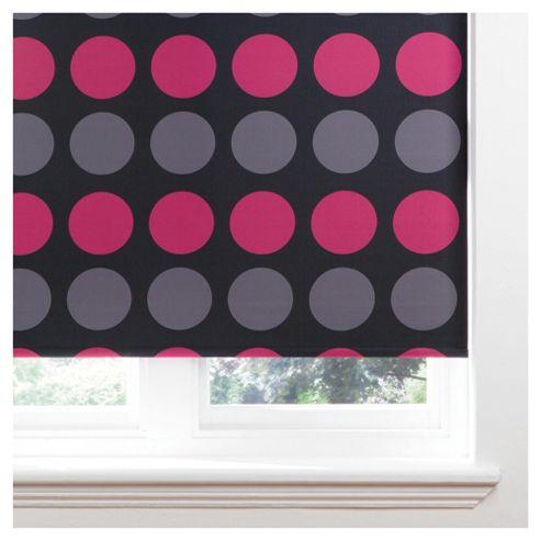 Spot Roller Blind 120x160cm Fuschia