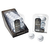 6 Pack Pro V1 Lake Golf Balls