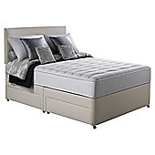 Silentnight Pocket Essentials Memory Foam King Non Storage Divan Bed.