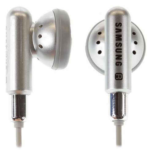 Samsung Earphones with Microphone Silver