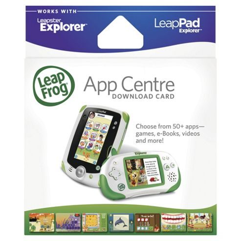 LeapPad Explorer App Center Download Card