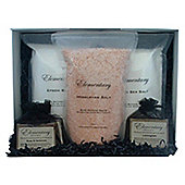 Elementary Skincare Salts & Soaps Bathing Collection..