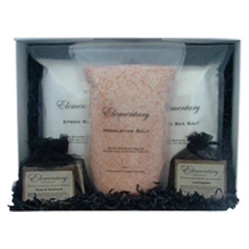Elementary Skincare Salts & Soaps Bathing Collection