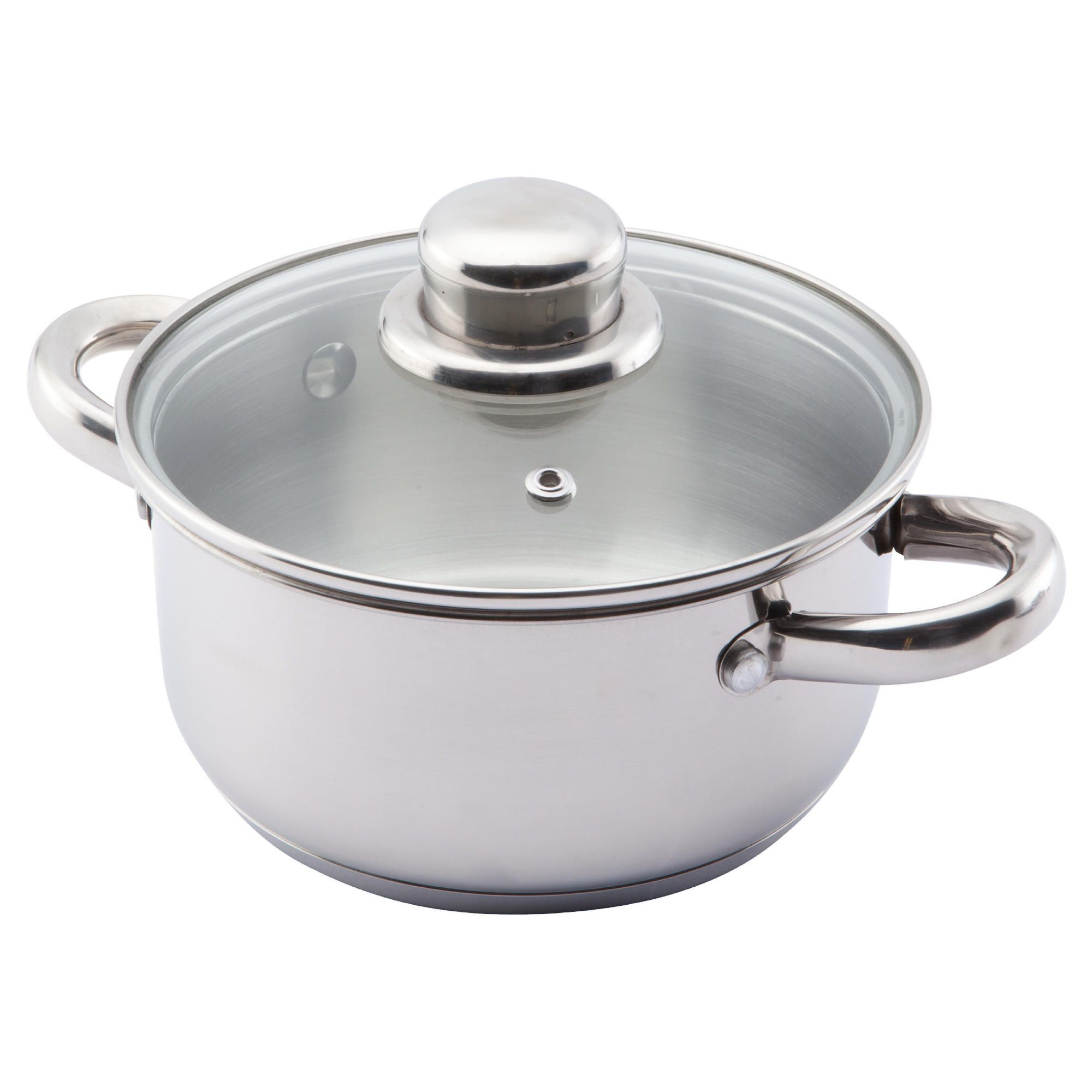 Home and garden kitchen pots and pans viners elements for Stainless steel elements