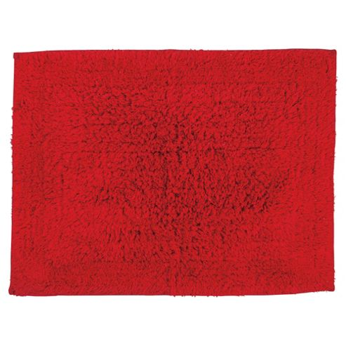 Tesco Bath Mat Red