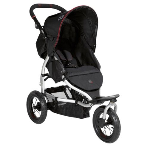 Mamas & Papas 03 Sport Pushchair - Black/Red