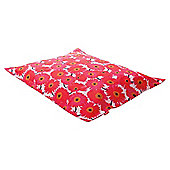 Kaikoo Xxl Indoor/Outdoor Floor Cushion, Floral