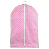 Pois closed suit/dress cover, 2 pack pink