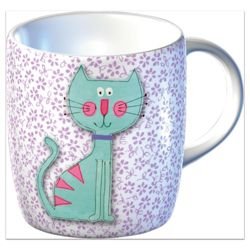 Tesco Cat Mug Gift Set