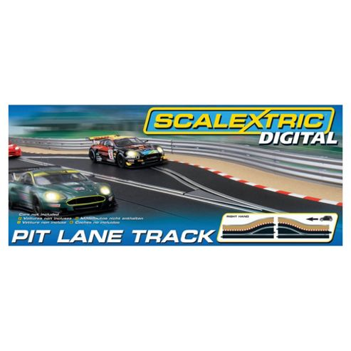 Scalextric Digital C7015 Pit Lane (Right Hand) 1:32 Scale Accessory