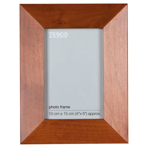 Tesco Walnut frame 4x6
