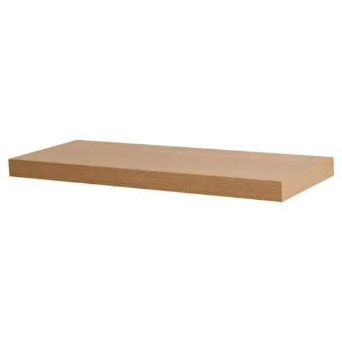 Oak Effect Floating Shelf 60cm
