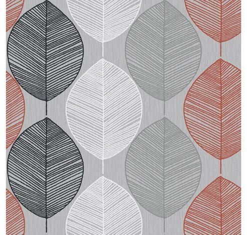 Arthouse Retro Leaf Silv/Oran