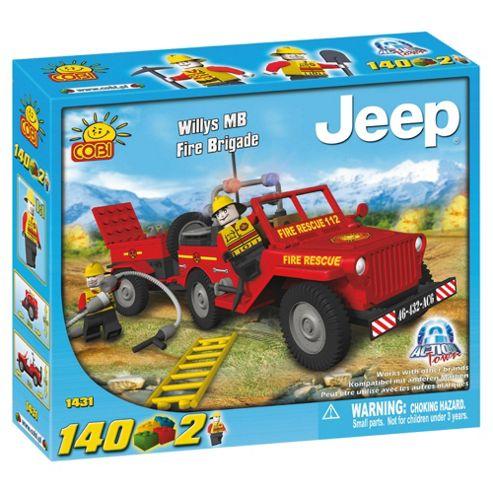 Cobi Action Town 140 Piece Fire Jeep