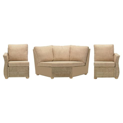 Corsica 3 Piece Suite Conservatory Set (Left, Right & Corner)