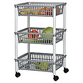 3 Tier Plastic Vegetable Rack