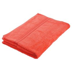 Tesco Bath Towel Coral