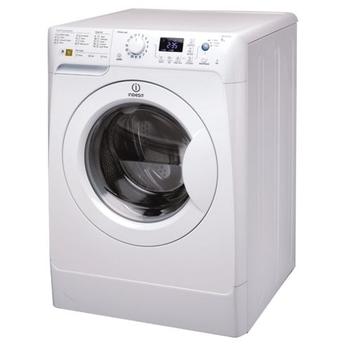 Indesit PWE91472W Washing Machine, 9kg Wash Load, 1400 RPM Spin, A++ Energy Rating. White