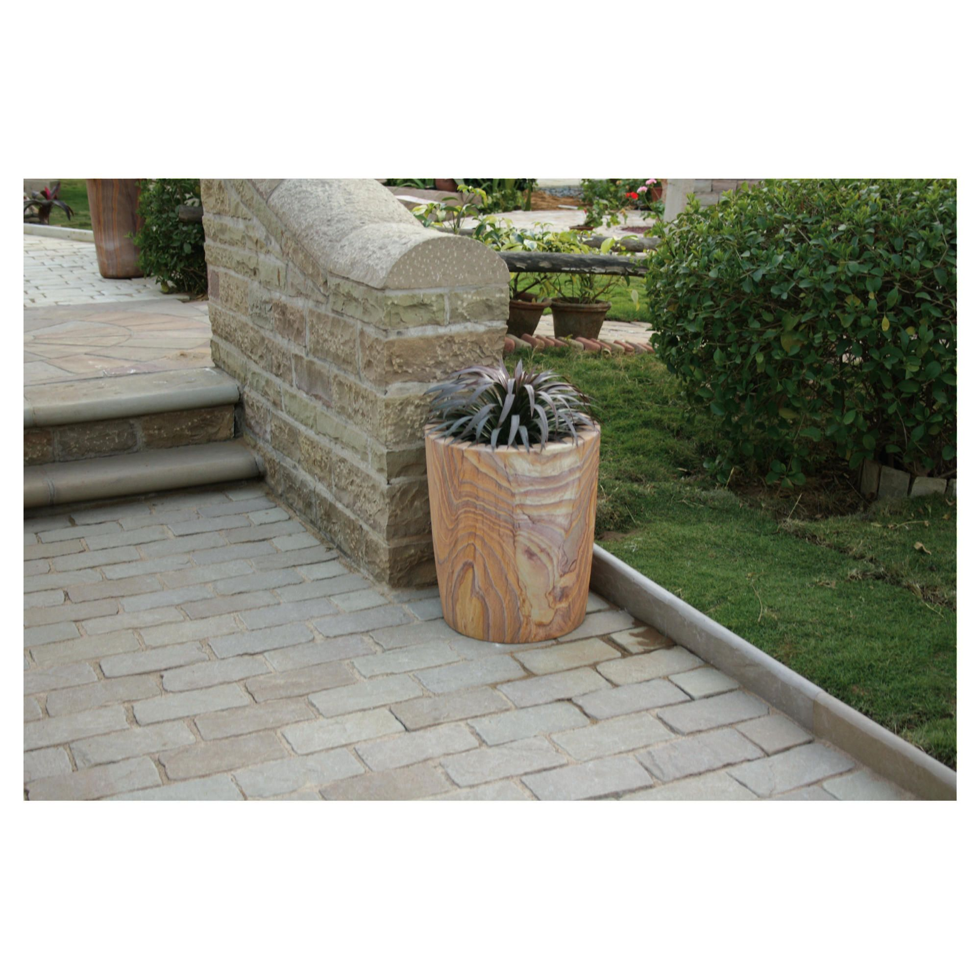 Pavo Rainbow Stone Planter 60cm at Tesco Direct