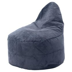 Kaikoo Faux Suede Ezee Chair, Charcoal