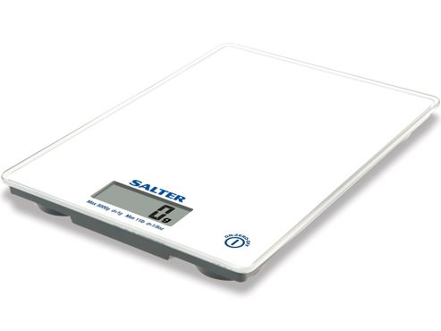 Salter 1041 Ultra Slim Electronic Scales, White