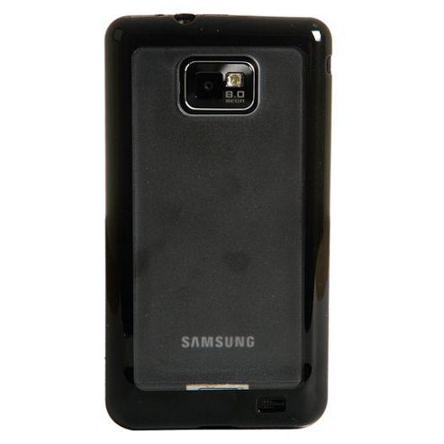 Orbyx Hard Shell Samsung Galaxy SII Clear & Black Edge