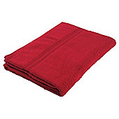 Tesco Hand Towel Red