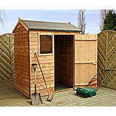 Mercia 6x4 Reverse Overlap Apex Shed