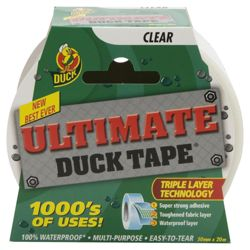 50mm x 20M Clear Ultimate Duct Tape