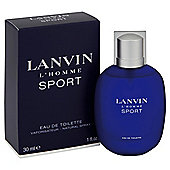 Lanvin L'Homme Sport Eau De Toilette Spray 30ml