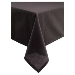 Tesco Medium Table Cloth, Black
