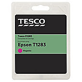 TESCO E1283 Magenta Printer Ink Cartridge (Compatible with printers using Epson T1283 Cartridge)