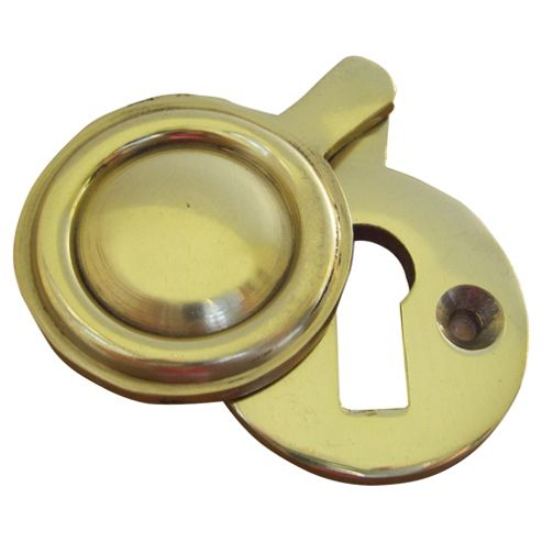 Key Hole Cover Draught Excluder Gold