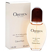 Calvin Klein Obsession For Men Eau De Toilette Spray 30ml