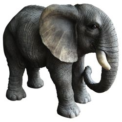 Real Life Elephant  Ornament