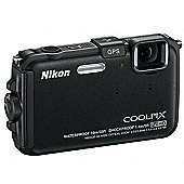 Nikon Coolpix AW100 Digital Camera - Black.