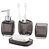 Tesco Boxed Acrylic Accessories set Black