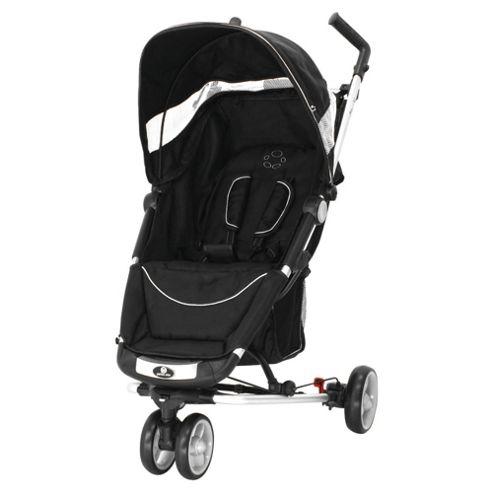 Petite Star Zia X 3 Wheeler Stroller Compact Fold, Jet Black
