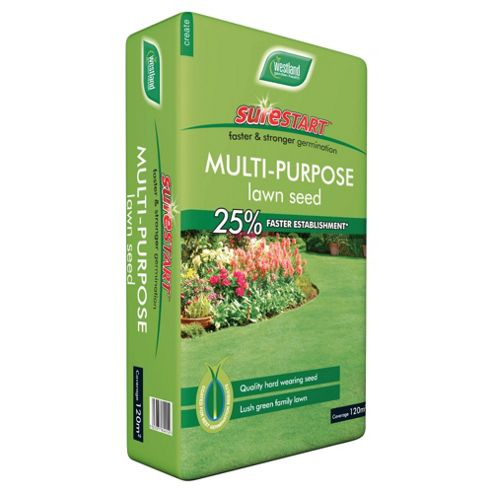 Westland Sure Start Multi Purpose Lawn Seed 120m²