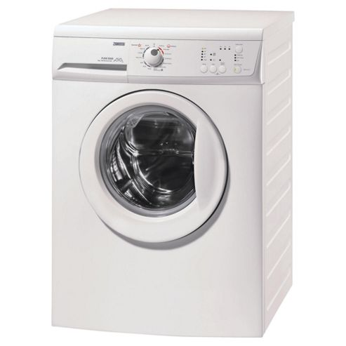 Zanussi Zwg6141p Washing Machine, 6kg Wash Load, 1400 RPM Spin, A Energy Rating. White