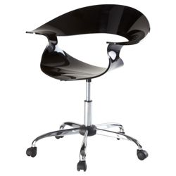 Flare Office Chair, Black
