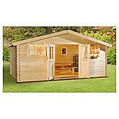 Finnlife SARKA 212 Log Cabin