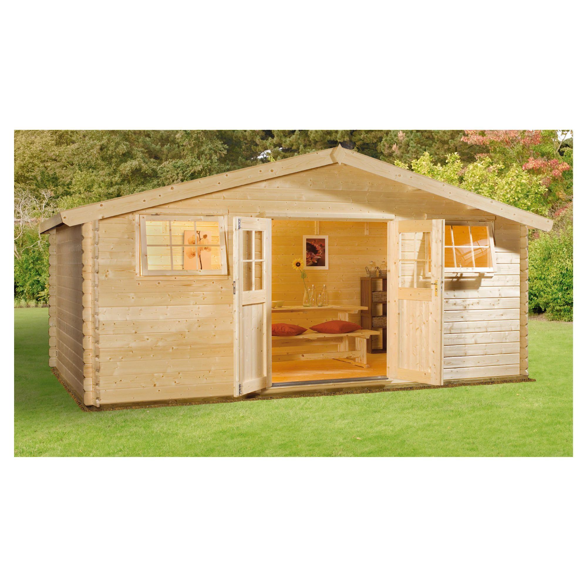 Finnlife SARKA 212 Log Cabin at Tesco Direct