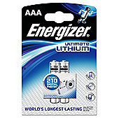 Energizer Lithium 2 pack AAA Batteries