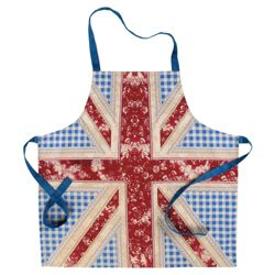 Tesco Floral Union Flag Apron