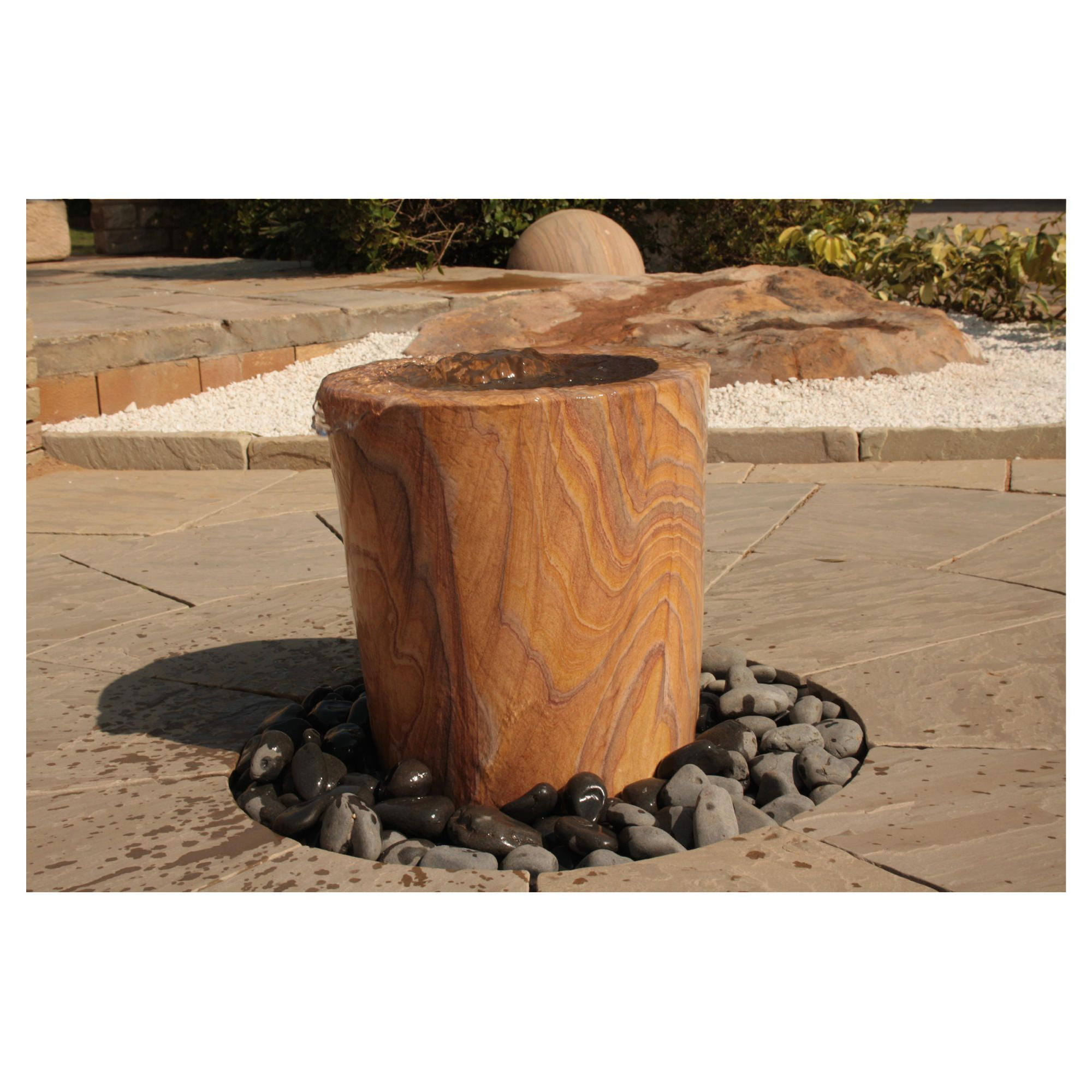 Pavo Rainbow Water Feature 60cm at Tesco Direct